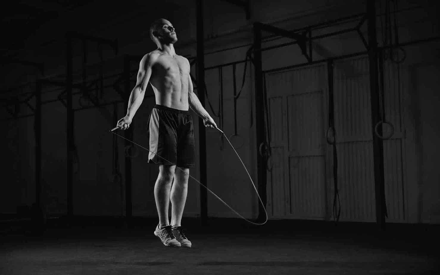 Jump rope - core exercises for men