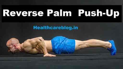 Reverse Push Ups - Biceps Workout At Home