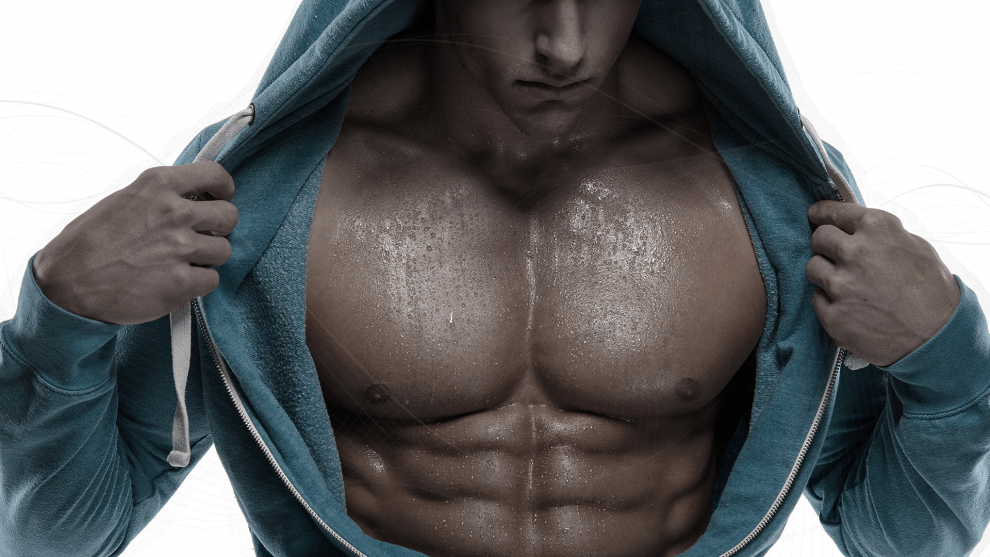 Chest workout for men at home