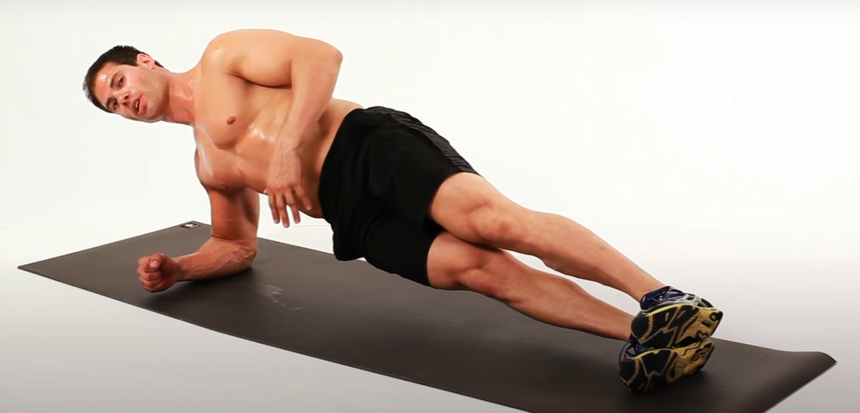 Side Plank - Plank for Beginners