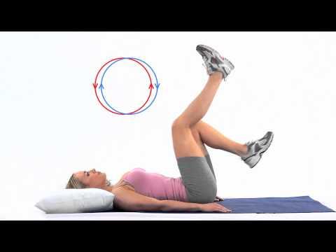 Air Cycling - Core Exercises at home
