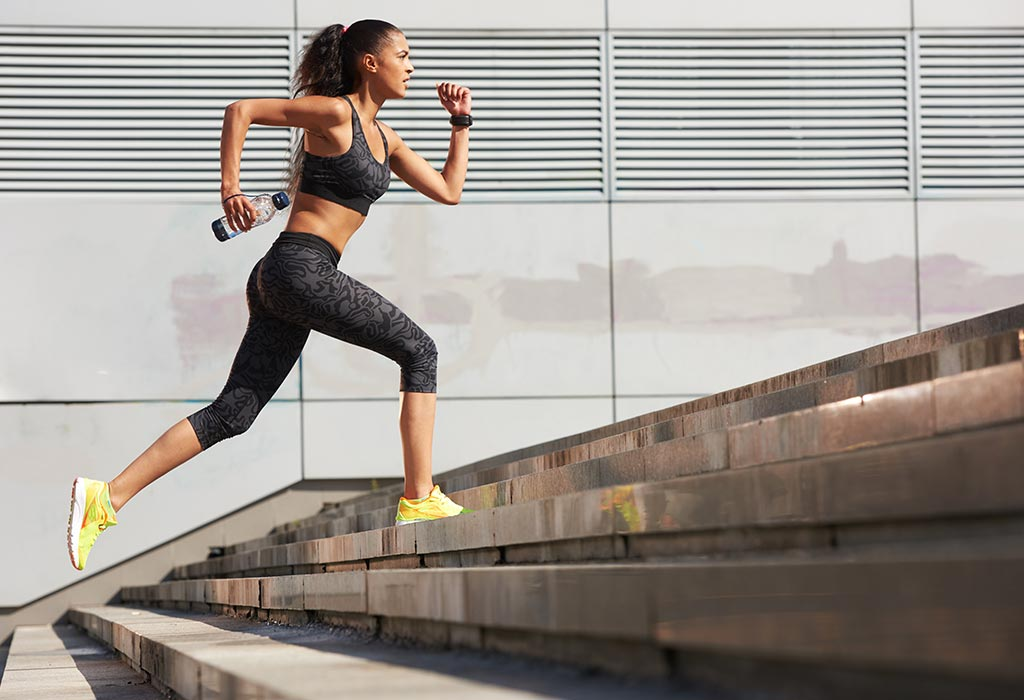 COre exercises for men - Stairs