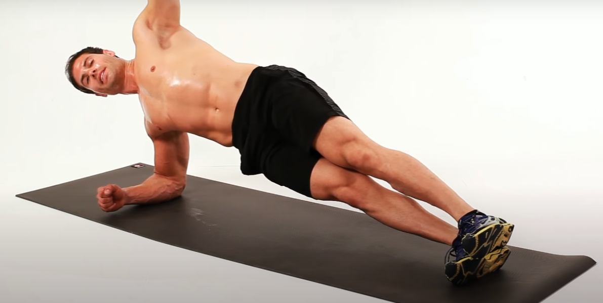 Core Exercises for Men at Home - Side Plank