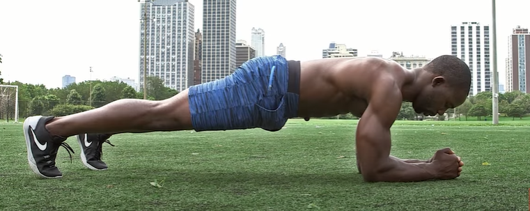 Simple Plank/Forearm Plank - Plank For Beginnners