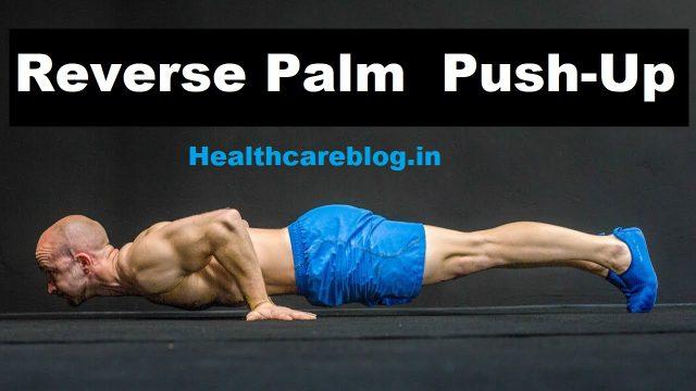 Reverse Push Ups - Shoulder Workout At Home