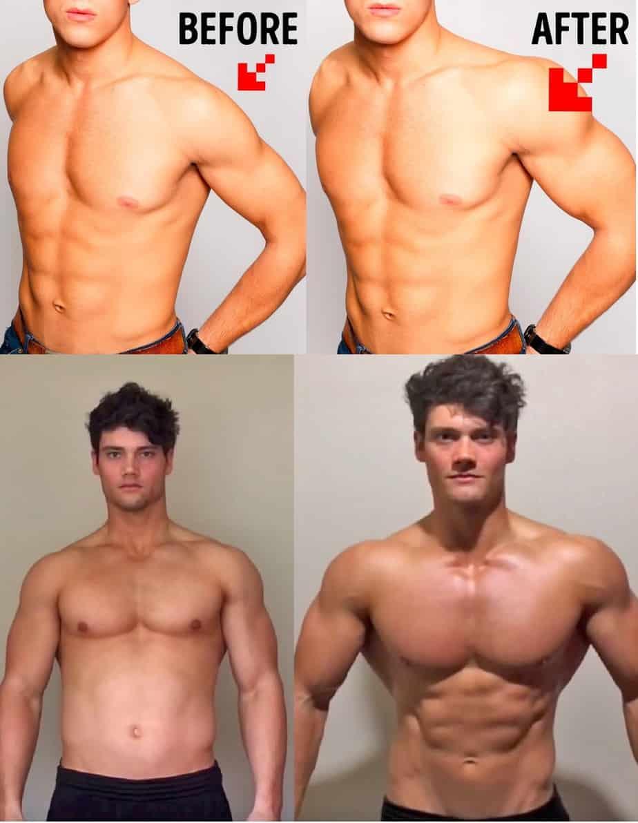 Shoulder Workout At Home - Results