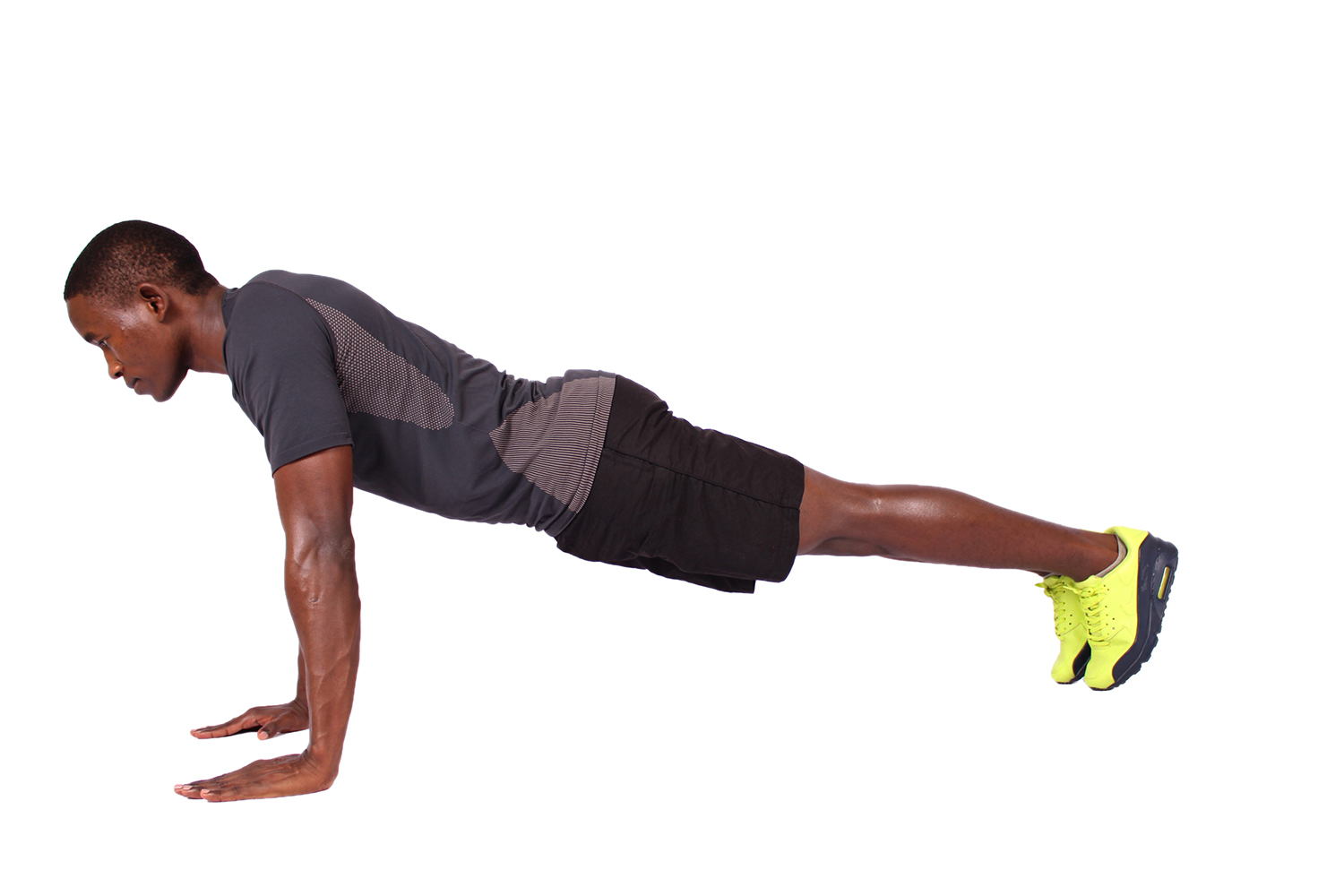 Straight Arm Plank - Plank For Beginners