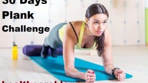 30 days plank challenge for beginners