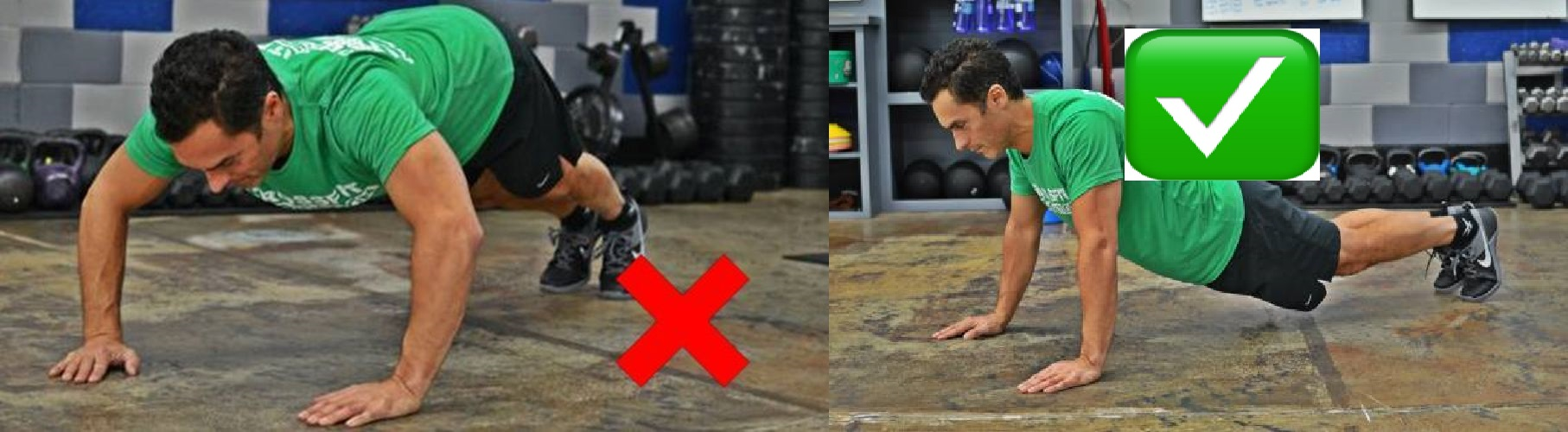 Push Ups Mistakes - Elbows Position