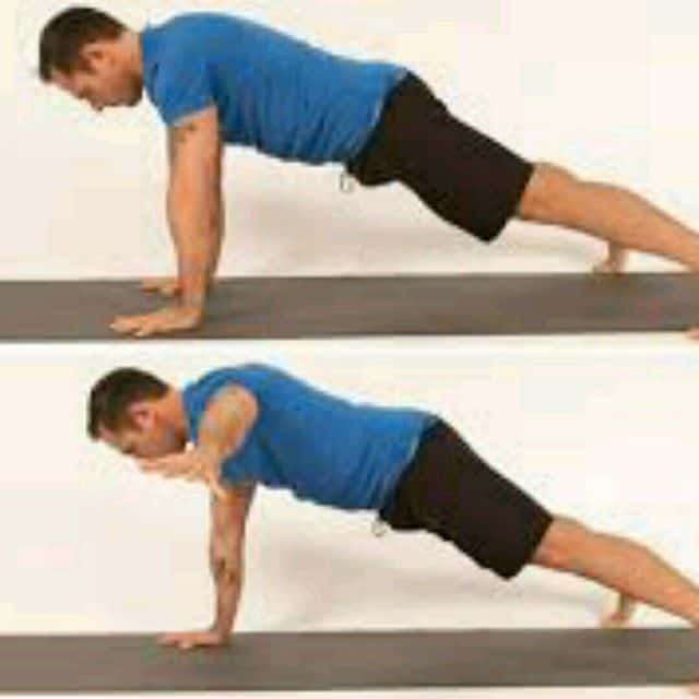 Different Types Of Planks- One Arm PLank
