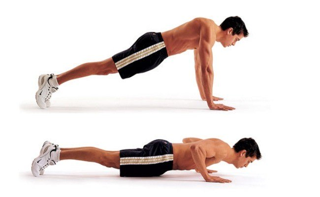 Full Body Workout At home Without Equipment - Push Ups