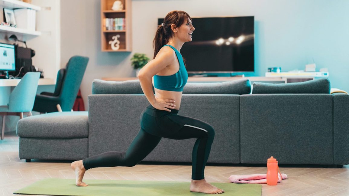 Full Body Workout At home Without Equipment - Lunges