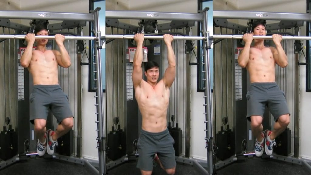 Full Body Workout At home Without Equipment - Chin Ups