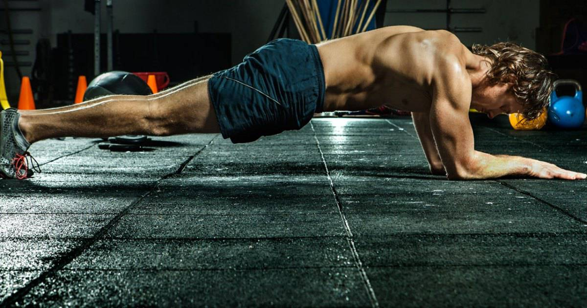 Different Types Of Planks - Elbow Plank