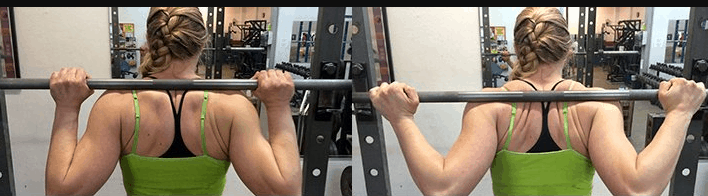 Barbell Lunges grip