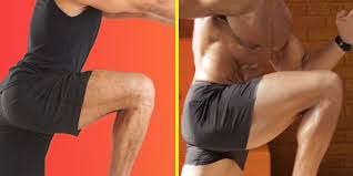 Lunges Before And After - Men's Results