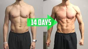 Pull Ups Before and After Pictures - Chest & Core