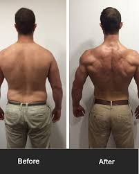 Pull Ups Before and After - Back