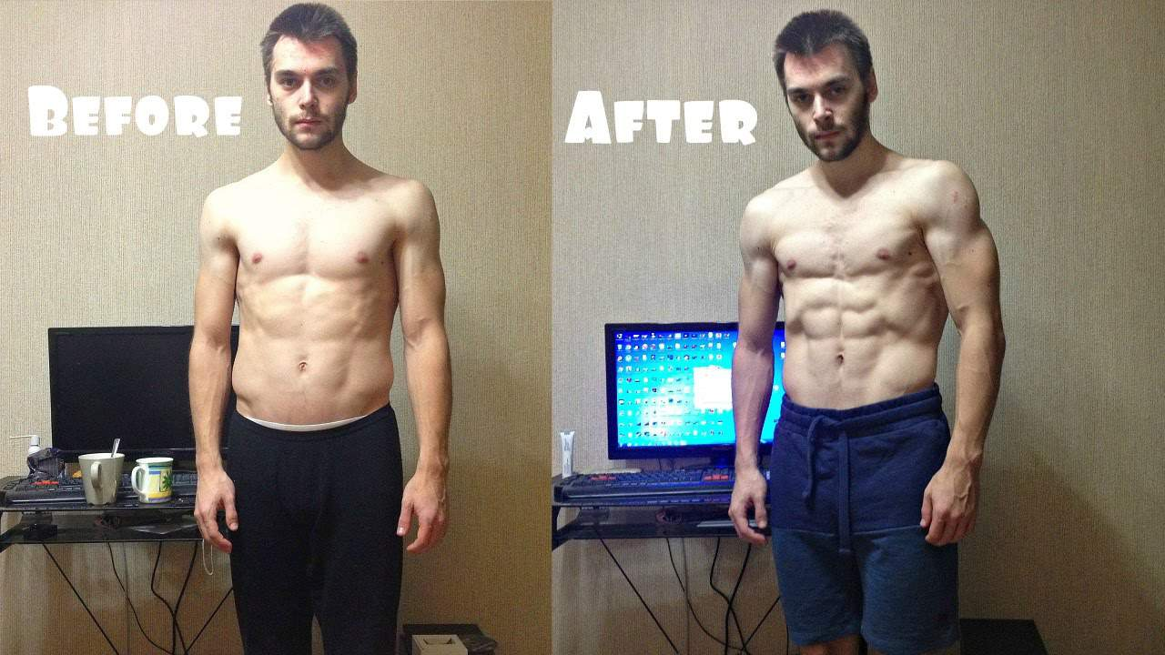 Push Ups Before And After Results - Chest Muscles