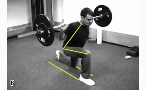 Knee Position Mistake In Barbell Lunges