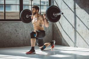 Barbell Lunges Complete Steps