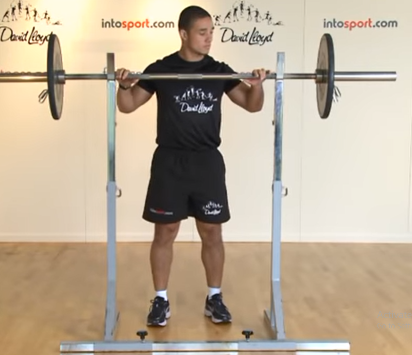 Barbell Lunges - Step 1
