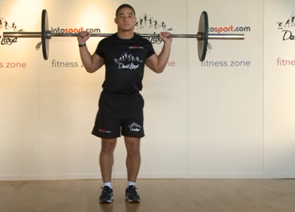 Barbell Lunges - Step 3