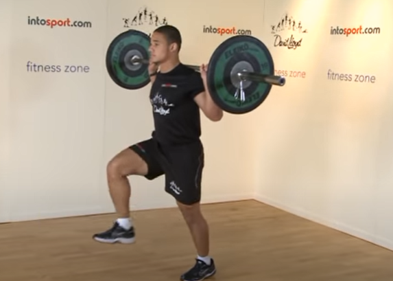 Barbell Lunges - Step 4