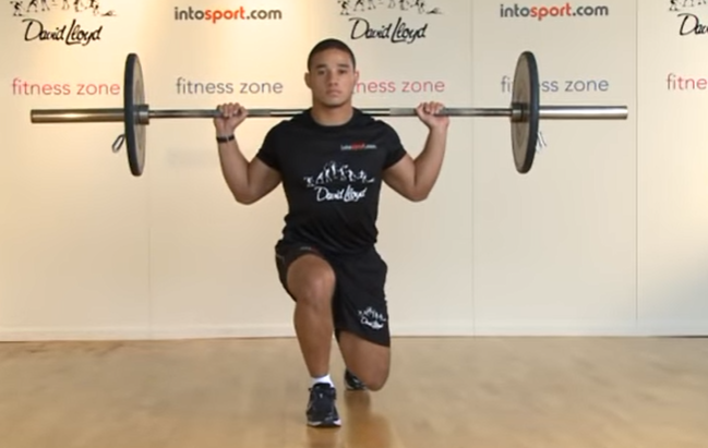 Barbell Lunges - Step 5