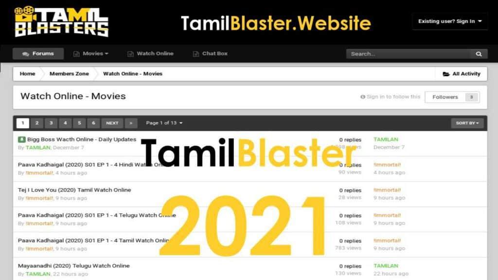 Tamilrockers/Tamilblasters New Link - Healthcare Blog