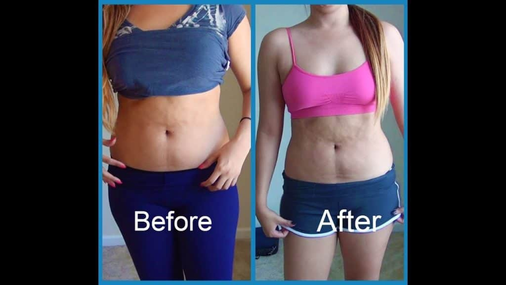 Crunches Before And After Pictures - Women