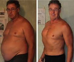 Crunches before and after images - Men
