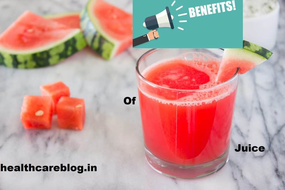 Benefits of Watermelon Juice