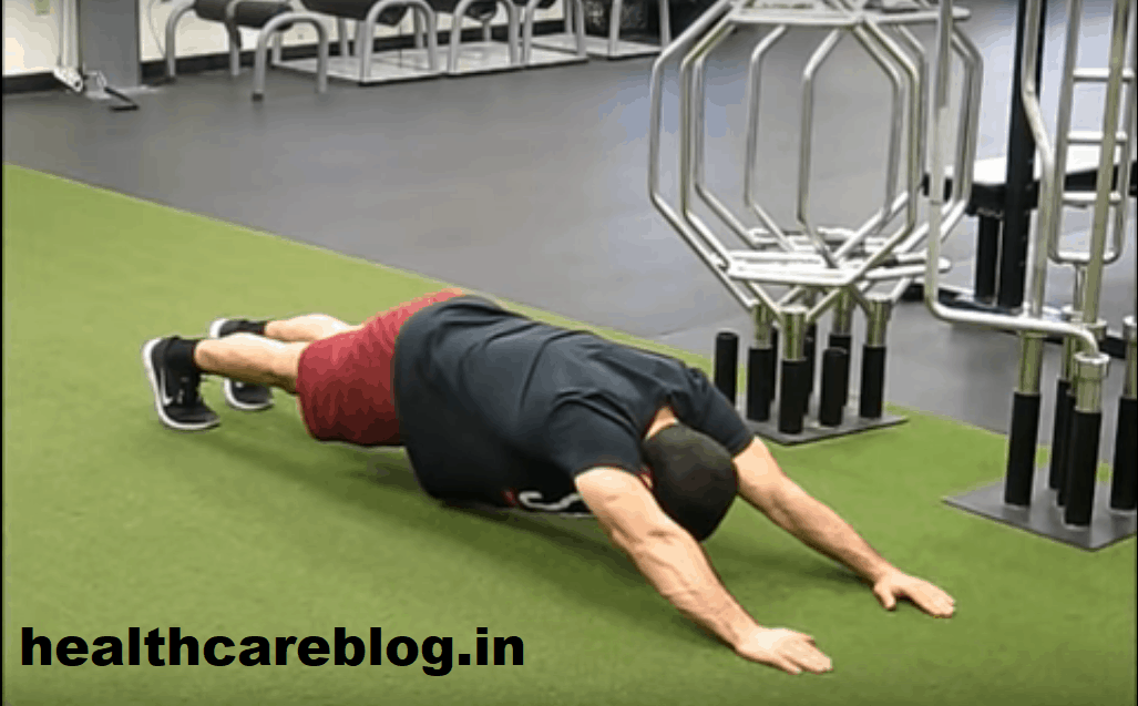 Types of Plank exercise - Long Lever Plank