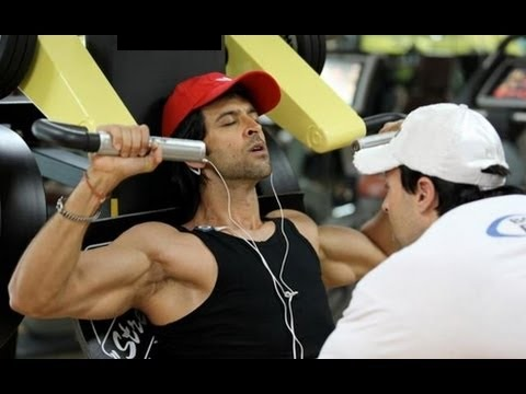 Hrithik Roshan Workout - Shoulders