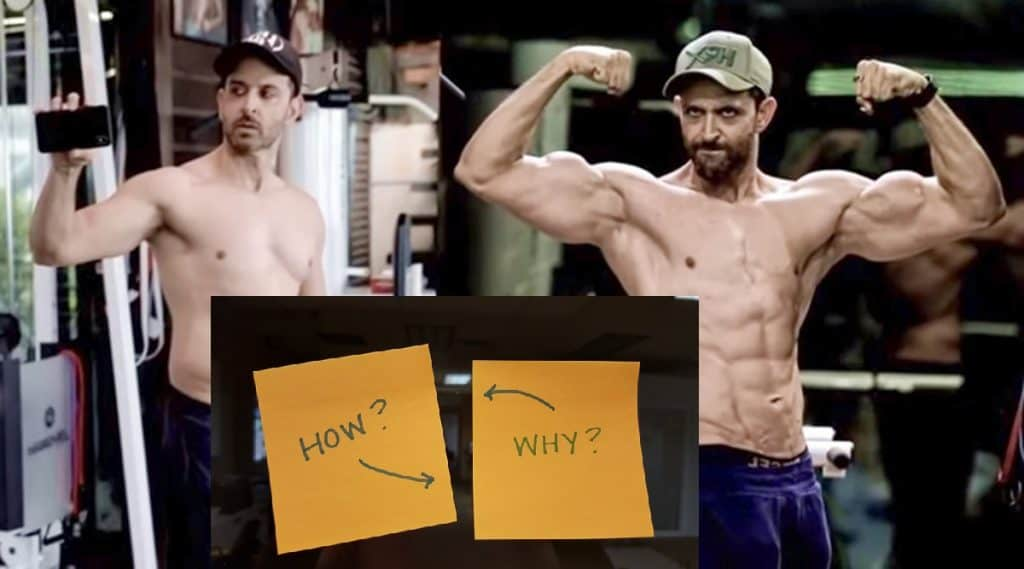 Hrithik Roshan Body Transformation, Workout & Diet