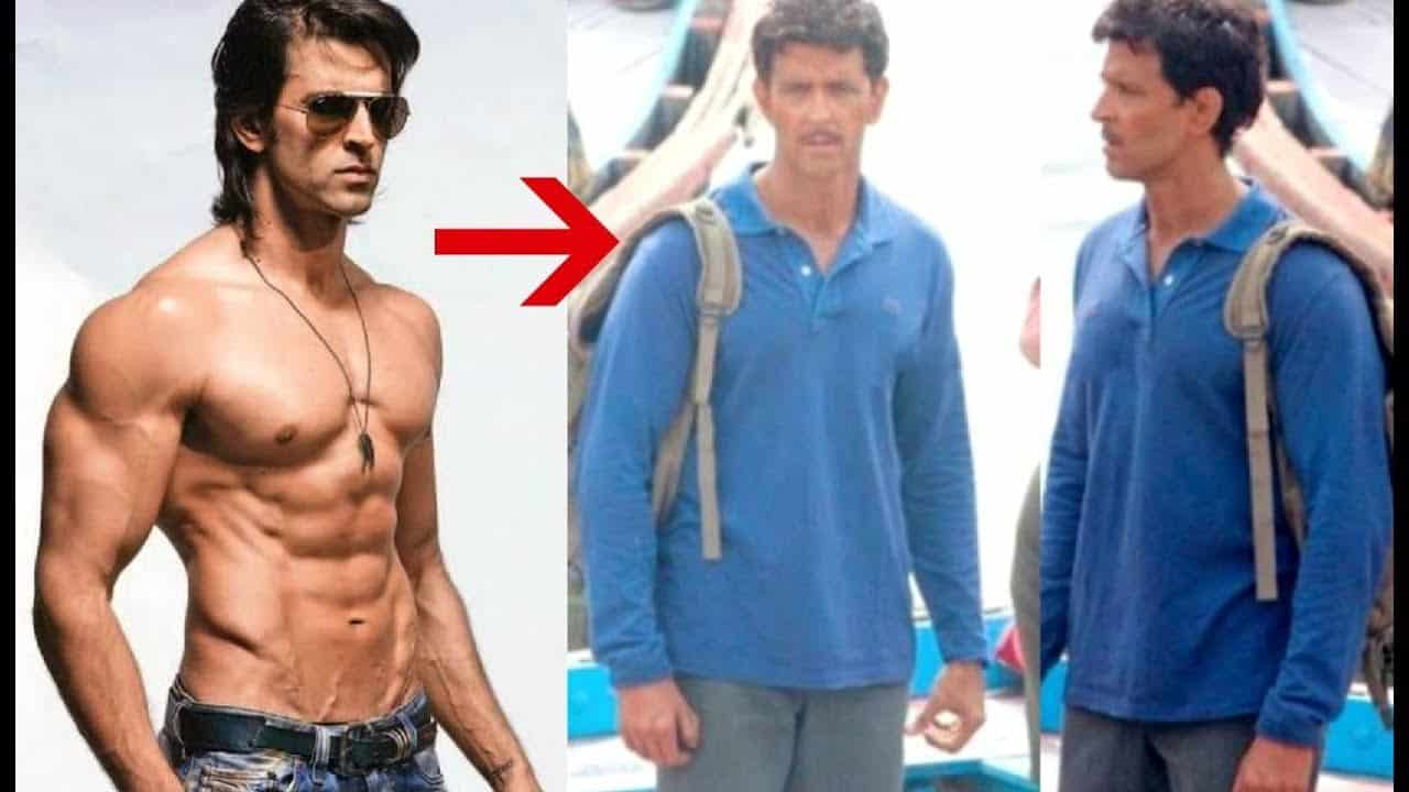 Hrithik Roshan Body Transformation