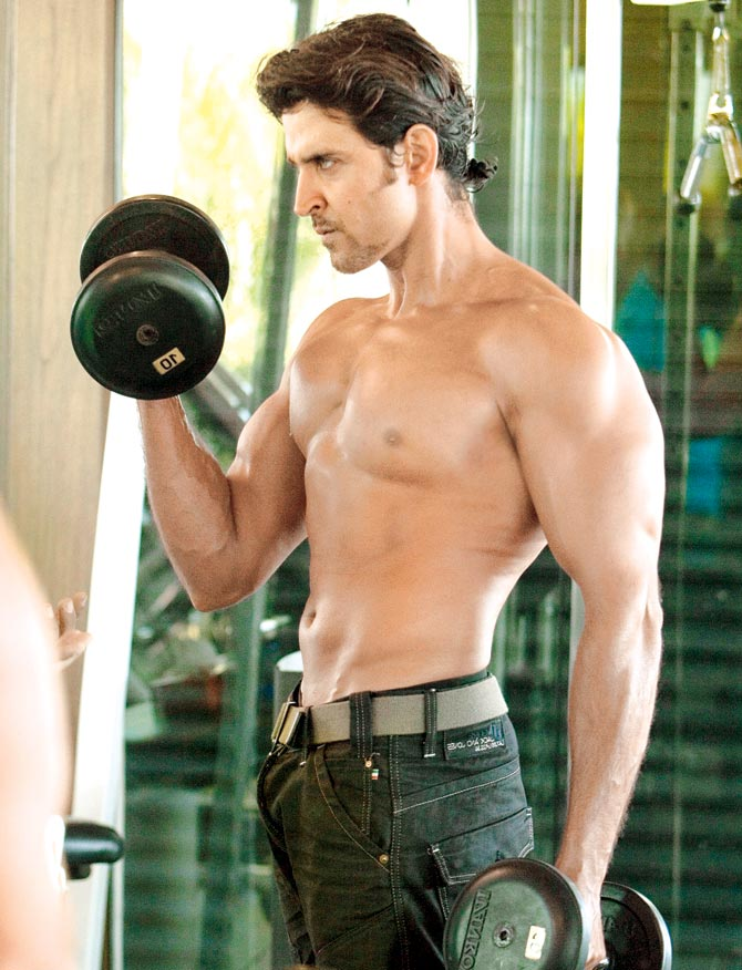 Hrithik Roshan Workout - Biceps