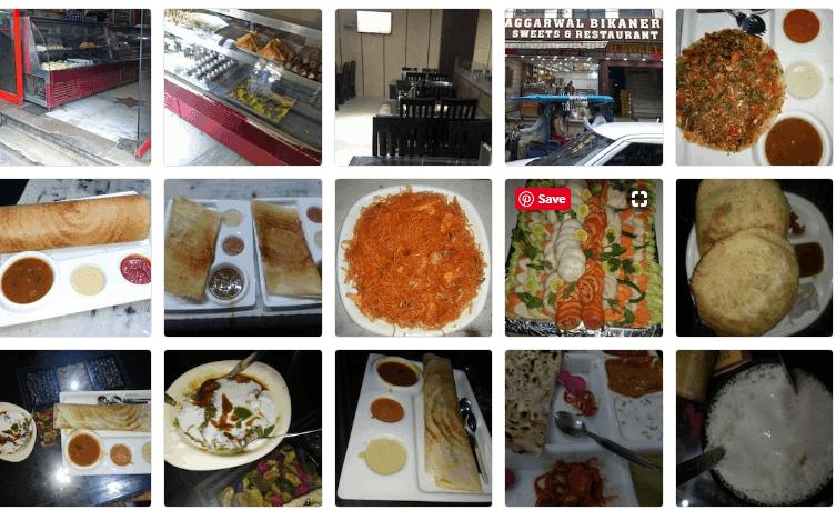 Aggarwal Bikaneri Sweets Najafgarh paneer dosa all food pics