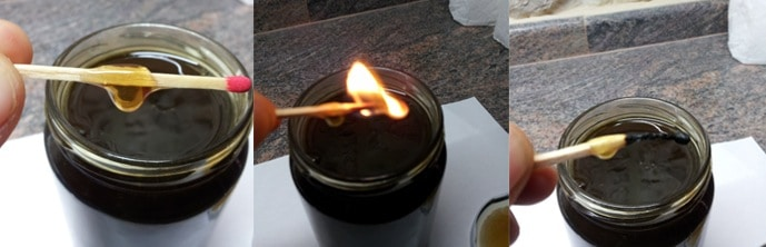 Tests To Check If Your Honey is Pure or Fake - Flame Test