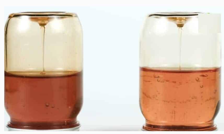 Test Honey Purity At Home - Transparent Beaker Test