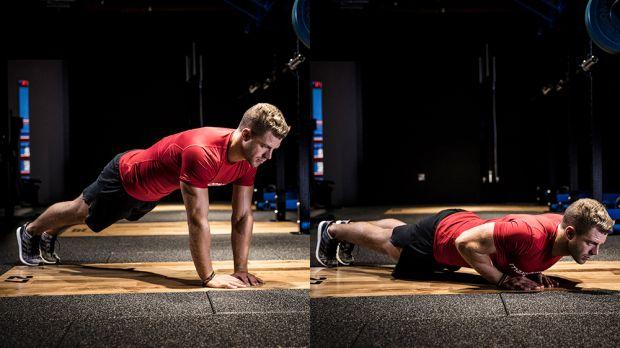 Diamond PUsh Ups - Biceps Workout At Home