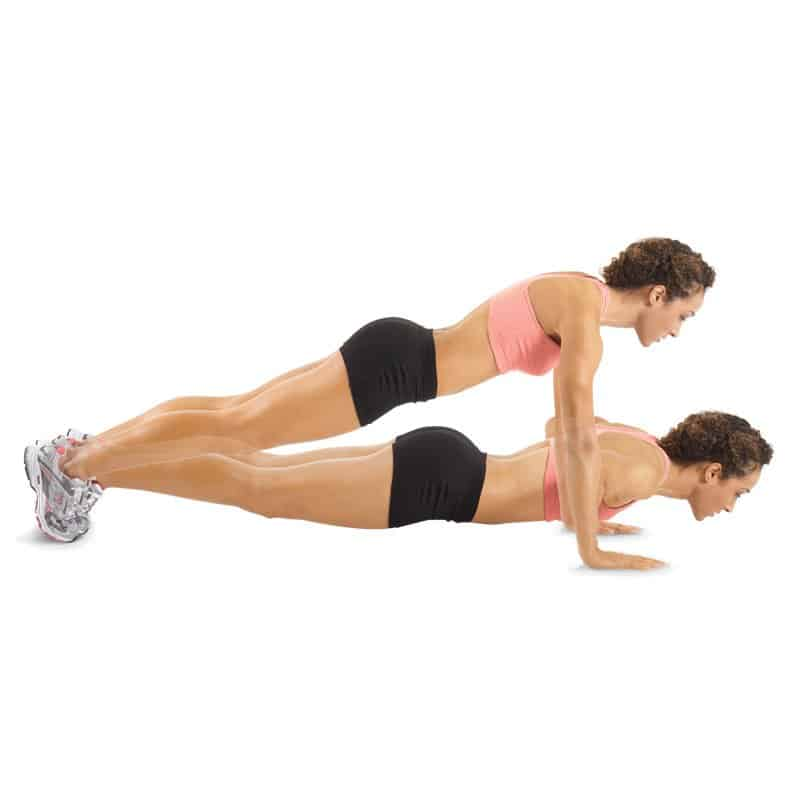 Simple Push Ups - Different Types Of Push Ups