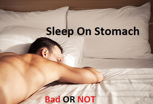 Sleeping On The Stomach is Dangerous - Healthcare Blog