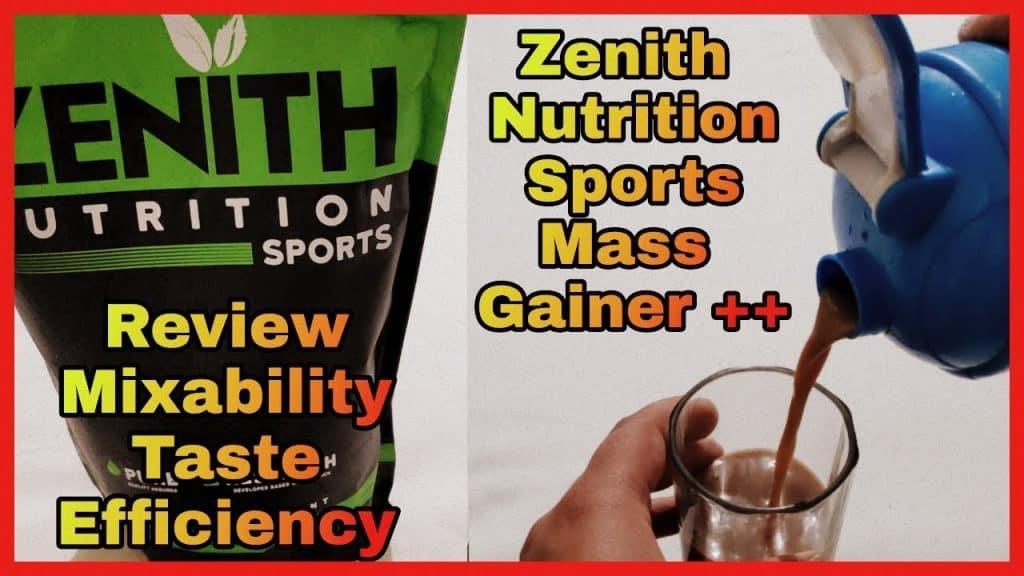 Zenith Nutrition Mass Gainer - Honest Review