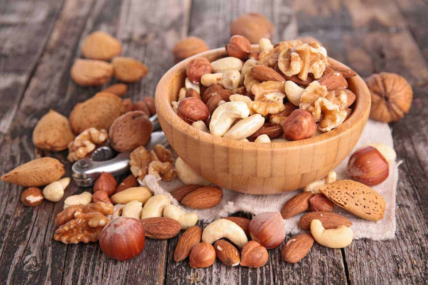 Snacks for Muscle Building - Nuts Snacks