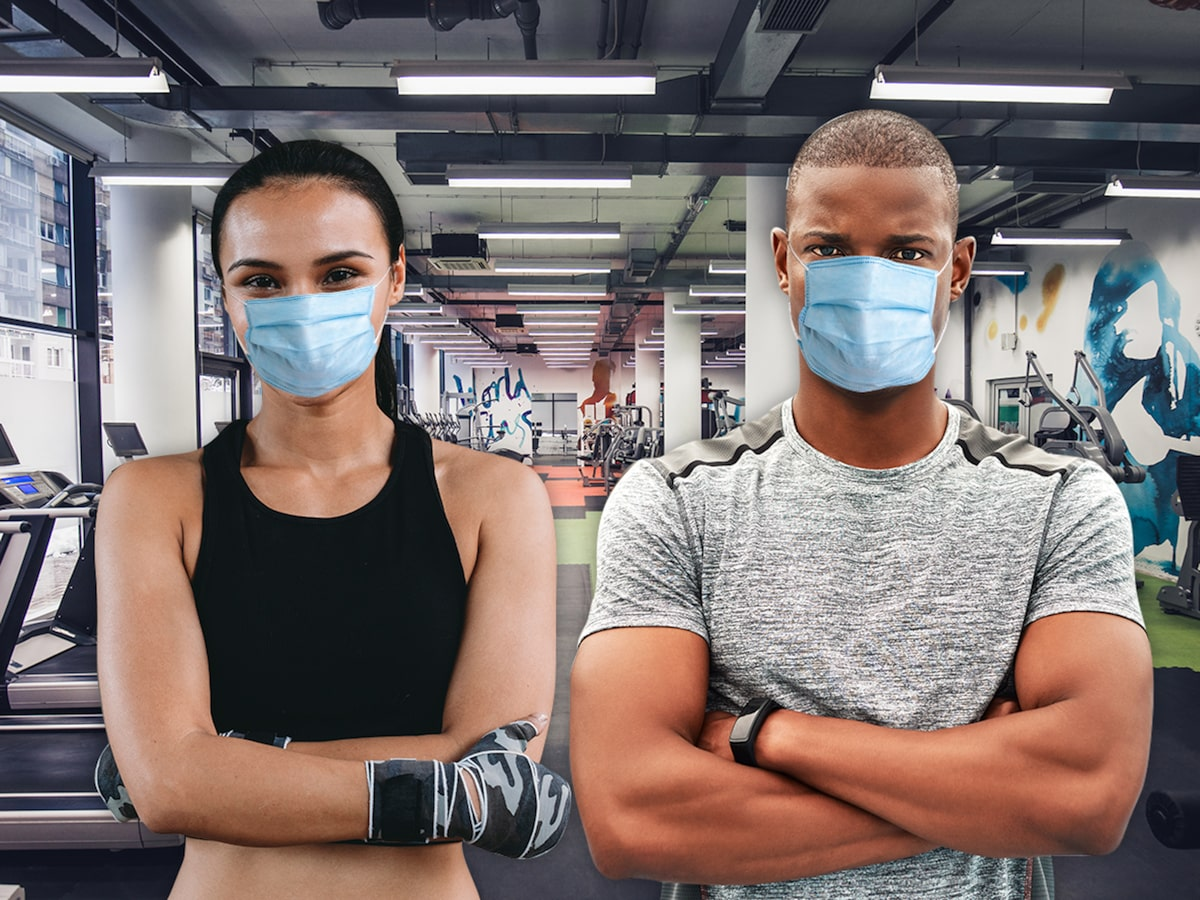 Ways Of Opening Gym In Lockdown - Masks and gloves Allowed