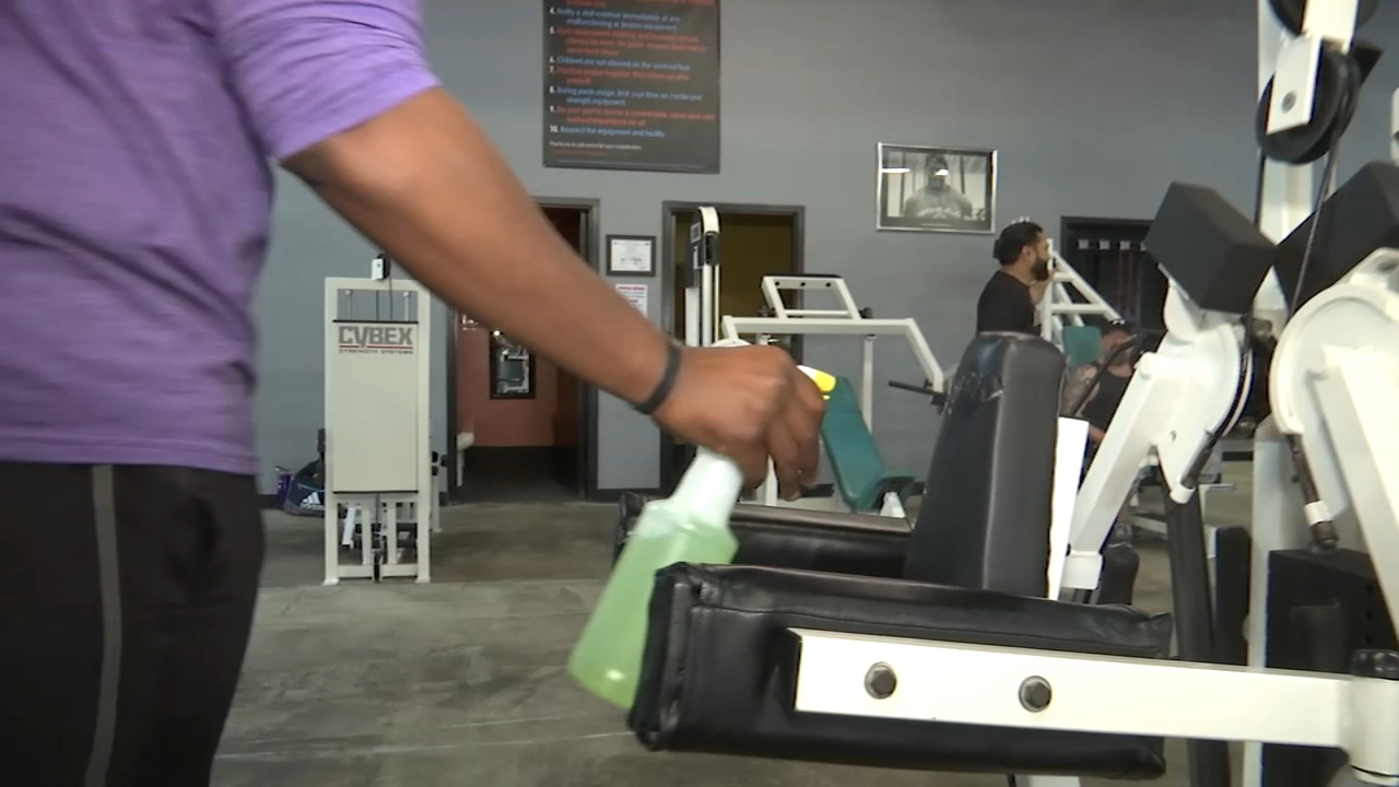 Ways Of Opening Gym In Lockdown - Sanitization