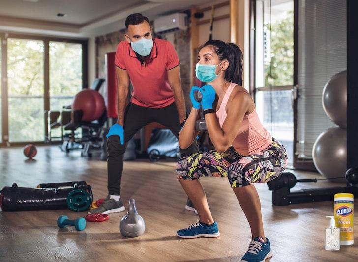 Ways Of Opening Gym In Lockdown - Social Distancing