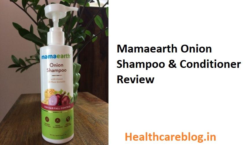 Mamaearth Onion Shampoo & Conditioner Review